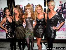 Girls Aloud at St Trinians premiere, Getty
