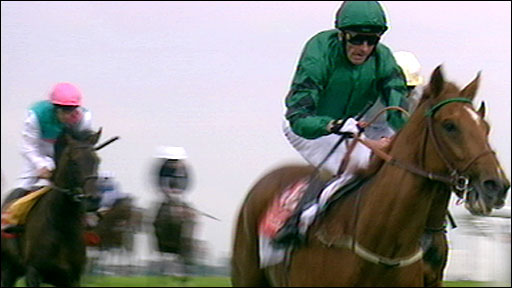 New Approach ridden by Kevin Manning