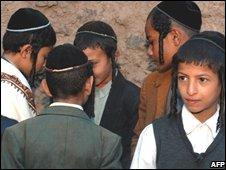 Yemeni Jewish boys (15/06/08)
