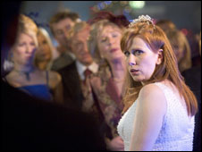 Wedding scene in Dr Who