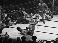Joe Frazier v Muhammad Ali I at New York's Madison Square Garden