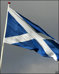 Scotland's national flag
