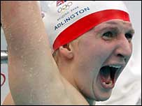 GB's Rebecca Adlington won two gold medals at the Beijing Olympics