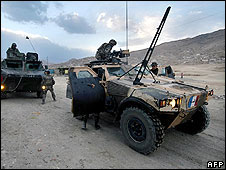 French troops in Afghanistan (archive image from 2006)