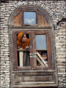 A Kashmiri family in Srinagar