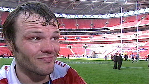 St Helens captain Keiron Cunningham