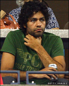 'Entourage' star Adrian Grenier at the US Open