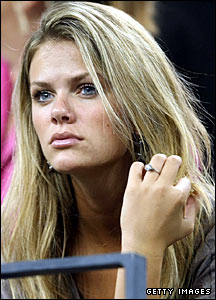 Andy Roddick's fiancee Brooklyn Decker