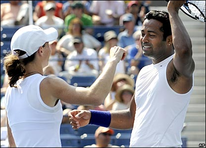 Cara Black and Leander Paes