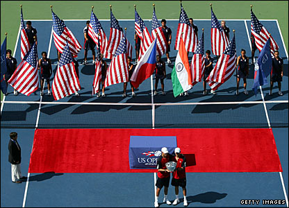 Americans Bob and Mike Bryan