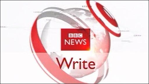 Writing news graphic