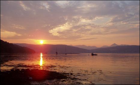 Lamlash Bay (Image courtesy of Coast)