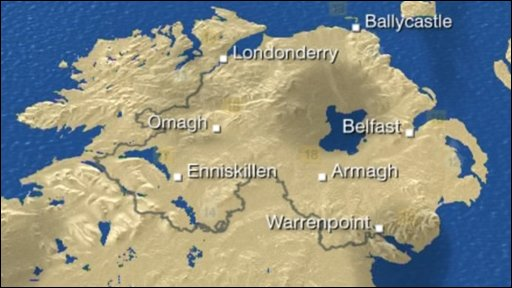 weather forecast northern ireland wednesday