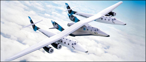 Virgin Galactic spacecraft (Image: Virgin Galactic)