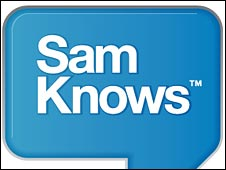 Sam Knows logo
