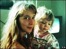 Samantha Bissett and her daughter Jazmine
