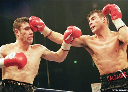 Joe Calzaghe unleashes on David Starie