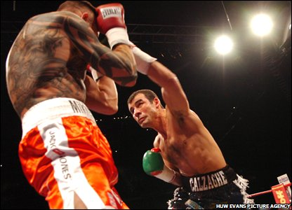 Calzaghe goes on the attack against Kessler