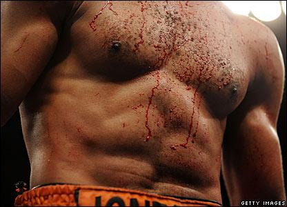 Roy Jones Jr's chest