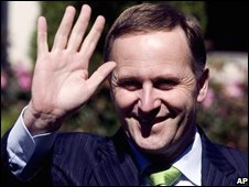 Prime Minister-elect and National Party leader John Key, 9th Nov