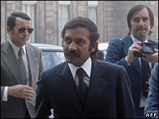 File photo of Abdelaziz Bouteflika in Paris, 1973