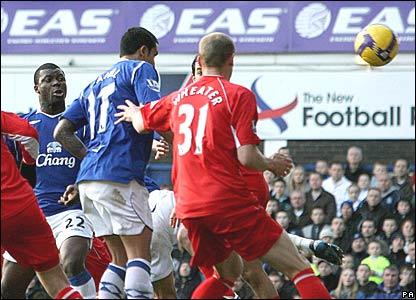 Yakubu scores for Everton