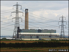 Kingsnorth power station, UK