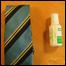 School tie and liquid paper