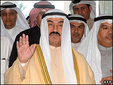 Kuwaiti PM Sheikh Nasser al-Sabah