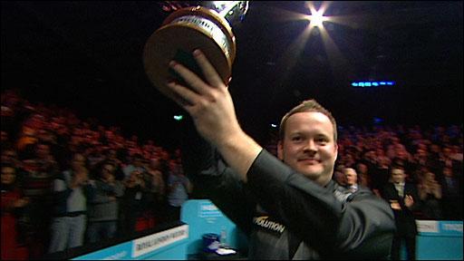 See Murphy fluke pink to win UK crown