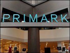 Primark store on Oxford Street, London