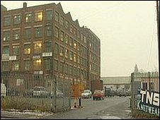 TNS Knitwear factory in Manchester