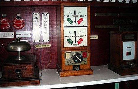 Signal box bell