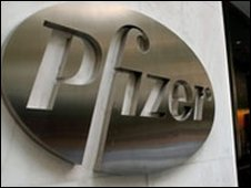 Pfizer sign