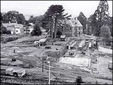 Site of BBC Broadcasting House, Llandaff, 1966