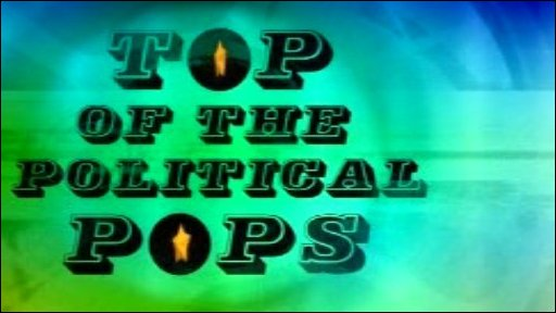 Top of the Political Pops graphic