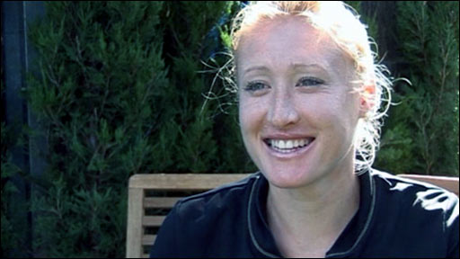Tennis player Elena Baltacha