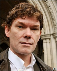 Gary McKinnon at the High Court in January