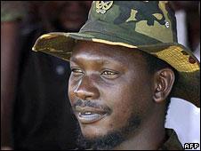 Thomas Lubanga (file picture, 2003)