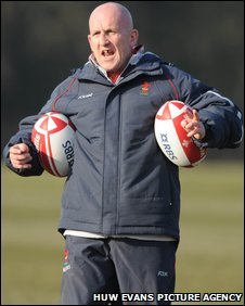 Wales assistant coach Shaun Edwards