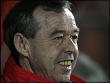 Wales youth coach Brian Flynn