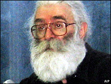 Radovan Karadzic soon after his capture