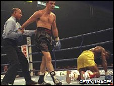 Joe Calzaghe v Chris Eubank