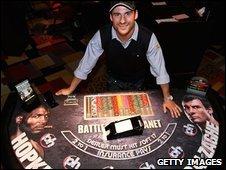 Joe Calzaghe in Vegas for the Hopkins fight
