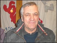 Jerzy Tabor, a veteran Solidarity member in Gdynia