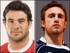 Mike Phillips and Mike Blair