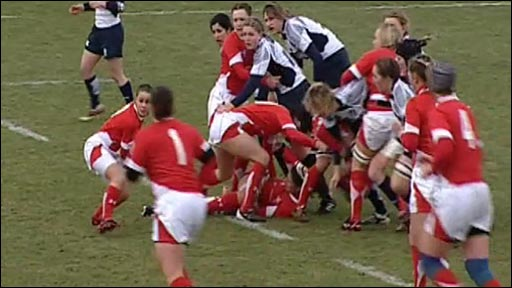 Women's rugby highlights