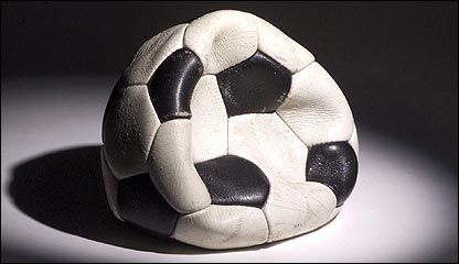 A deflated football
