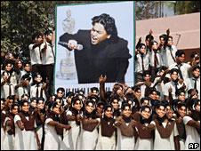 Celebrations over AR Rahman's win in Chennai, India