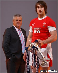 Warren Gatland and Ryan Jones